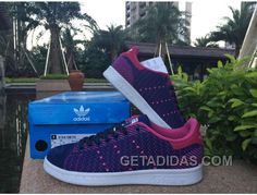 249cff8a783 Adidas Stan Smith Women Royal Blue Rose Red Online