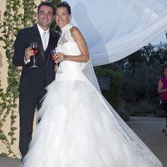 Xavi Hernández i la seva dona tenen la seva primera filla: Àsia.  #Futbol #XaviHernández #FCB #Barcelona
