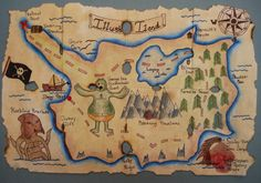 a faithful attempt: Pirate Treasure Maps Pirate Treasure Maps, Pirate Maps, Pirate Quilt, 7th Grade Art, Clip Art Library, Pirate Birthday, Pirate Party, Canadian Art, Antique Maps