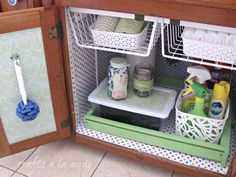 Under the Sink Makeover - Kitchen Cabinet Makeover Ideas - Country Living