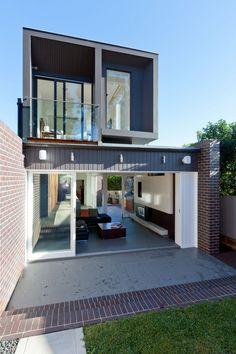 Australian Modern Architecture With a Twist: G House in Sydney #energyefficiency