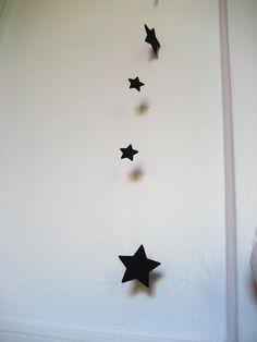 Lovely black stars