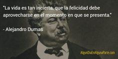 """El 24 de julio de 1802 #TalDíaComoHoy nació el novelista y dramaturgo francés Alejandro Dumas """"Los Tres Mosqueteros"""""""