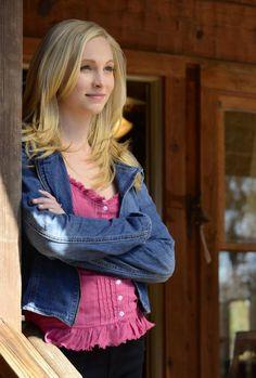 Caroline Forbes wore a Lucky Brand Addisyn Denim Moto Jacket on The Vampire Diaries. Shop it: http://www.pradux.com/lucky-brand-addisyn-denim-moto-jacket-28750?q=s3