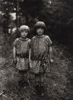 """Sisters"" as seen in the book August Sander: Citizens of the 20th Century, Portrait Photographs 1892-1952. via Jessica Svendsen"
