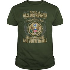 Wildland #Firefighter Job Title T-Shirts | YeahTshirt.com