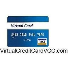 Buy Virtual Credit Card (VCC) with $3 Balance Buy Virtual Credit Card (VCC) with $3 Balance For Adwords, Facebook, PayPal, Skrill, Payza and Online Shopping etc.