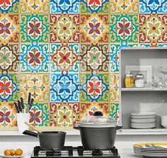 33 best Bohemian backsplash tile images on Pinterest | Kitchen ...