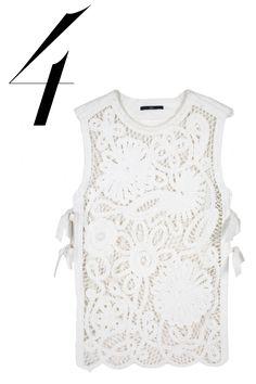 Tibi top, $495, shopBAZAAR.com.   - HarpersBAZAAR.com