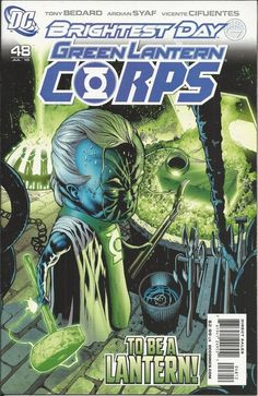 DC Green Lantern Corps comic issue 48 Limited variant