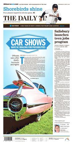 THE DAILY TIMES 6/8/16 via Newseum