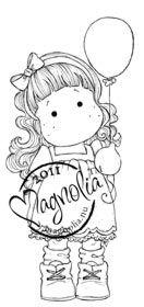 Magnolia Stamps - Tilda with Balloon