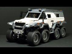 LEGO MOC-5360 Avtoros Shaman 8x8 (Technic 2016) | Rebrickable - Build with LEGO