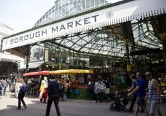 20. A Great Saturday AM Ritual: Pottering about Borough Market  Here's my $.02 (£.01?...) on one of most obvious-but oft overlooked places in London that makes London such an incredible place: Borough Market....    I have a confession:  I get up earlier on Saturday morning than I ever do during the week for work.  Crazy, I know-but this is what you do when want to be at Borough Market before 8.30am on a Saturday!  This is what you do to get the best pick of the fruit and veg, guarantee...