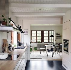 A Relaxed Mid-century Inspired Danish Home