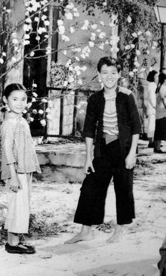 Bruce in the 1955 film \'An Orphan\'s tragedy
