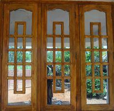 wooden window fame Wooden Window Frames, Indian Window Design, Front Window Design, Wooden Window Design, Window Grill Design Modern, Architect Design House, Door Gate Design, Wooden Main Door Design, Front Door Design Wood
