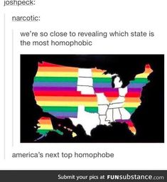 Some women have gotten married in Ohio. We may not be good with abortions but we'll support the LGBT community.I apologize on behalf of the good people in Ohio.and America in general. We're trying to overrun the bad guys. Lgbt Memes, Funny Memes, Hilarious, Funny Pics, Funny Stuff, My Tumblr, Tumblr Funny, Lgbt Love, Lgbt Community
