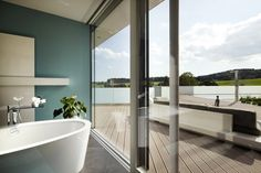 INTERNORM Open Plan, Studio, Bathtub, How To Plan, Bathroom, Home, Colors, Standing Bath, Bath Room