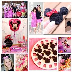 Minnie Mouse Disney Dream Party Celebration! ~ Sugar Bee Crafts
