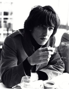 candid of George - shows how beautiful he was