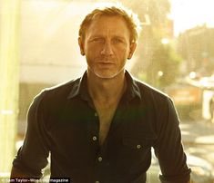 As my mom used to say, he can keep his shoes under my bed any day. Thank you, Daniel Craig.