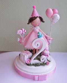 big celebration custom cake topper
