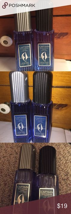 Captain Mollyneux Paris for men Captain pairs for men  after shave 2.5oz and tolerate   Natural  spray 2.5oz full bootleg this time  classic for the men who  wanted to smell  casual design by house molynneux. New without box. Captain Molyneux Other