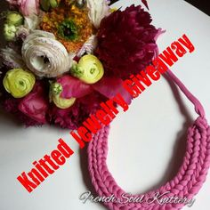 #Knitted #Necklace #Giveaway