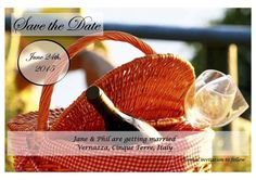 vernazza save the date