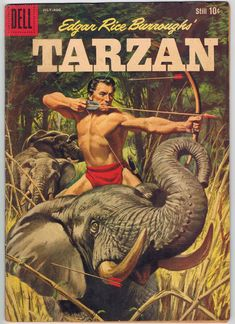 Tarzan Comic with elephant