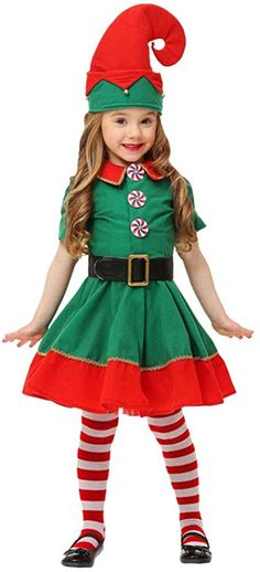 Costume Halloween, Christmas Elf Costume, Toddler Christmas Outfit, Christmas Shirts For Kids, Cool Costumes, Holidays With Toddlers, Toddler Costumes, Red Shirt, Fancy