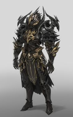 Character Creation, Fantasy Character Design, Character Design Inspiration, Character Art, Dark Warrior, Shadow Warrior, Fantasy Art Men, Fantasy Armor, Armor Concept