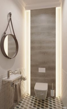 gäste wc gäste wc in 2020 Interior Design Toilet, Toilet And Bathroom Design, Small Toilet Design, Small Toilet Room, Bathroom Design Luxury, Modern Bathroom Decor, Bathroom Styling, Powder Room Decor, Bathroom Design Inspiration