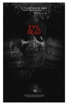 Evil Dead 24x36 inch poster by TheArtOfAdamJuresko on Etsy