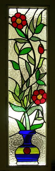 502 Best Stained Glass Flowers Images On Pinterest Stained Glass