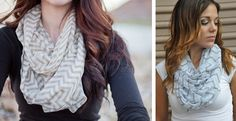 Love these! (I have Plum & Olive) Lightweight & beautiful... ordering more! Blowout Sale! Chevron Infinity Scarves! 13 Colors!   Jane