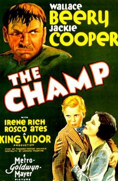 The Big guy Jackie Cooper vintage movie poster print