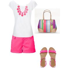 Summer, created by srcucuel on Polyvore