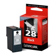 Lexmark Original No.28 Return Black Ink 18C1428E  100% Genuine Lexmark Original No.28 Return Black Ink Cartridge.  Approx. 175 pages , 10ml  For use with the following printers:  Lexmark X2500 Lexmark X2510 Lexmark X2530 Lexmark X2550 Lexmark X5070