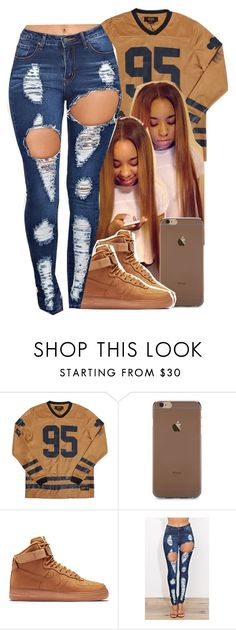 """"" by jchristina ❤ liked on Polyvore featuring NIKE"