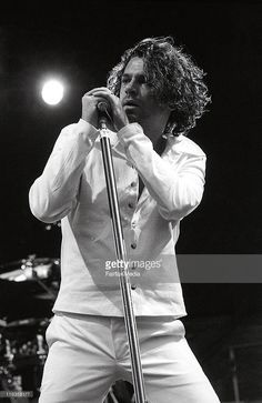 #MichealHutchence of #INXS at the Concert For Life at Centennial Park    March 28, 1992    © Fairfax Media