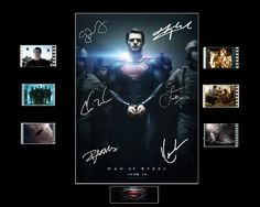 Man of Steel Film Cell Presentation  Movie by Everythingbutthatcom, £9.99