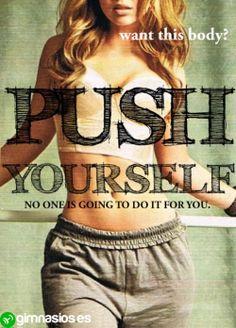 Ten fuerza de voluntad! #voluntad #fuerza #tupuedes #push #animos #motivacion