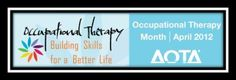 Occupational Therapy Month Handouts