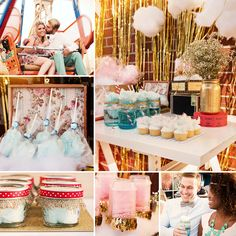 Get ready to be 'spun' up in this absolutely Dreamy & Retro Cotton Candy Carnival from Amber Lay of Cotton Clouds For A Cause! #CottonCandy