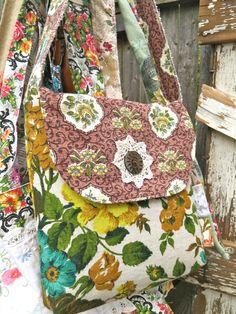 blondie blu flap bag no 1 by BlondieBlu on Etsy, $38.00