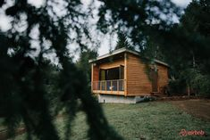 A cozy tiny cabin on a quiet 25-acre lot with views of Oregon's Mt Hood.