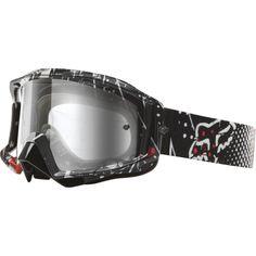 32c96641e39 Fox Racing Main Pro Riot Men s Motocross Off-Road Dirt Bike Motorcycle  Goggles Eyewear - Color  Clear