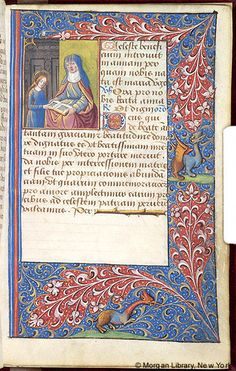 Book of Hours, MS M.160 fol. 90r - Images from Medieval and Renaissance Manuscripts - The Morgan Library & Museum